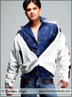Männliches Modelle Portfolios, Neu Delhi, Indien